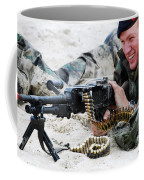 Dutch Royal Marines Taking Part Coffee Mug by Luc De Jaeger