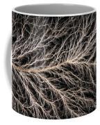Electrical Discharge Lichtenberg Figure Coffee Mug by Ted Kinsman