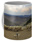 Flock Of Sheep Coffee Mug