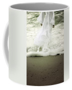 Girl At The Sea Coffee Mug by Joana Kruse