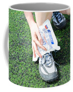 Injured Ankle Coffee Mug by Photo Researchers