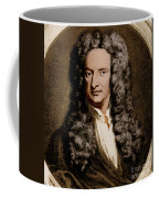 Isaac Newton, English Polymath Coffee Mug by Science Source