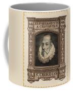 Miguel De Cervantes Coffee Mug