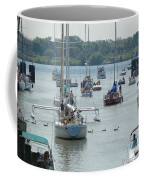 Port Huron To Mackinac Race Coffee Mug