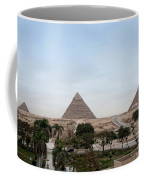 Pyramids Of Giza Coffee Mug