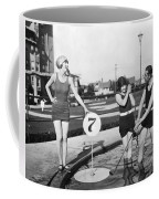 Silent Film Still: Golf Coffee Mug