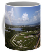 Space Shuttle Atlantis And Endeavour Coffee Mug