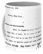 Spanish American War, 1898 Coffee Mug
