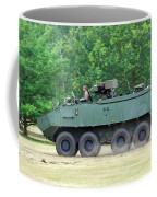 The Piranha IIic Of The Belgian Army Coffee Mug by Luc De Jaeger
