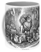 Thomas Nast: Santa Claus Coffee Mug