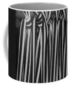 5 Ties In Black And White Coffee Mug