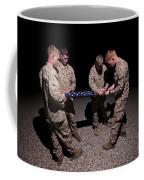 U.s. Marines Fold The American Flag Coffee Mug