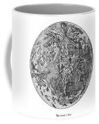 Verne: Earth To Moon Coffee Mug