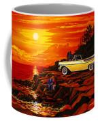 57 Merc Sunset Coffee Mug
