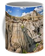 Badlands In Alberta Coffee Mug