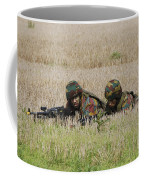 Belgian Paratroopers On Guard Coffee Mug