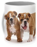 Bulldog Puppies Coffee Mug