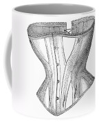 Corset Advertisement, 1869 Coffee Mug