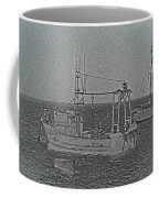 Fishing Boats Art Coffee Mug