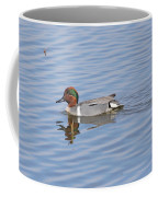 Green Wing Teal Coffee Mug