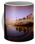 Hapenny Bridge, River Liffey, Dublin Coffee Mug