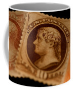 Magnification Of Classic 19th Century Coffee Mug