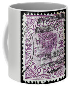 old Australian postage stamp Coffee Mug