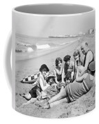 Silent Still: Bathers Coffee Mug