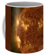 Solar Activity On The Sun Coffee Mug