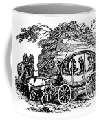 Stagecoach, 19th Century Coffee Mug