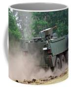 The Piranha IIic Of The Belgian Army Coffee Mug