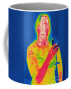 Thermogram Of A Woman Coffee Mug