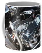 67 Black Camaro Ss 396 Engine-8033 Coffee Mug