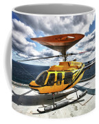 A Bell 407 Utility Helicopter Coffee Mug