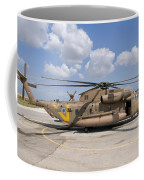 A Sikorsky Ch-53 Yasur Of The Israeli Coffee Mug