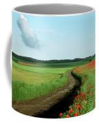 Field Of Poppies. Coffee Mug