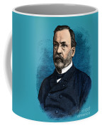 Louis Pasteur, French Chemist Coffee Mug by Science Source