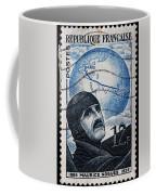 old French postage stamp Coffee Mug