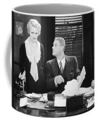 Silent Film Still: Offices Coffee Mug