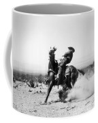 Silent Film Still: Western Coffee Mug