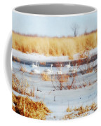 7 Swans Swimming  Coffee Mug