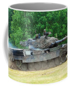 The Leopard 1a5 Main Battle Tank Coffee Mug by Luc De Jaeger