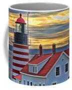West Quoddy Head Lighthouse 3822 Coffee Mug