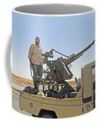 A Free Libyan Army Pickup Truck Coffee Mug by Andrew Chittock