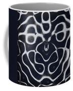 Chladni Oscillations On Metal Plate Coffee Mug