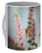 Honey Bee In Flight Coffee Mug
