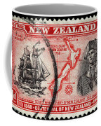 old New Zealand postage stamp Coffee Mug