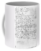 Samuel Taylor Coleridge Coffee Mug