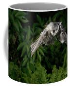 Tufted Titmouse In Flight Coffee Mug