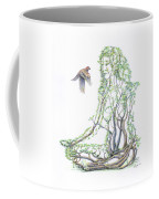 Lotus Dancer Re-imagined Coffee Mug